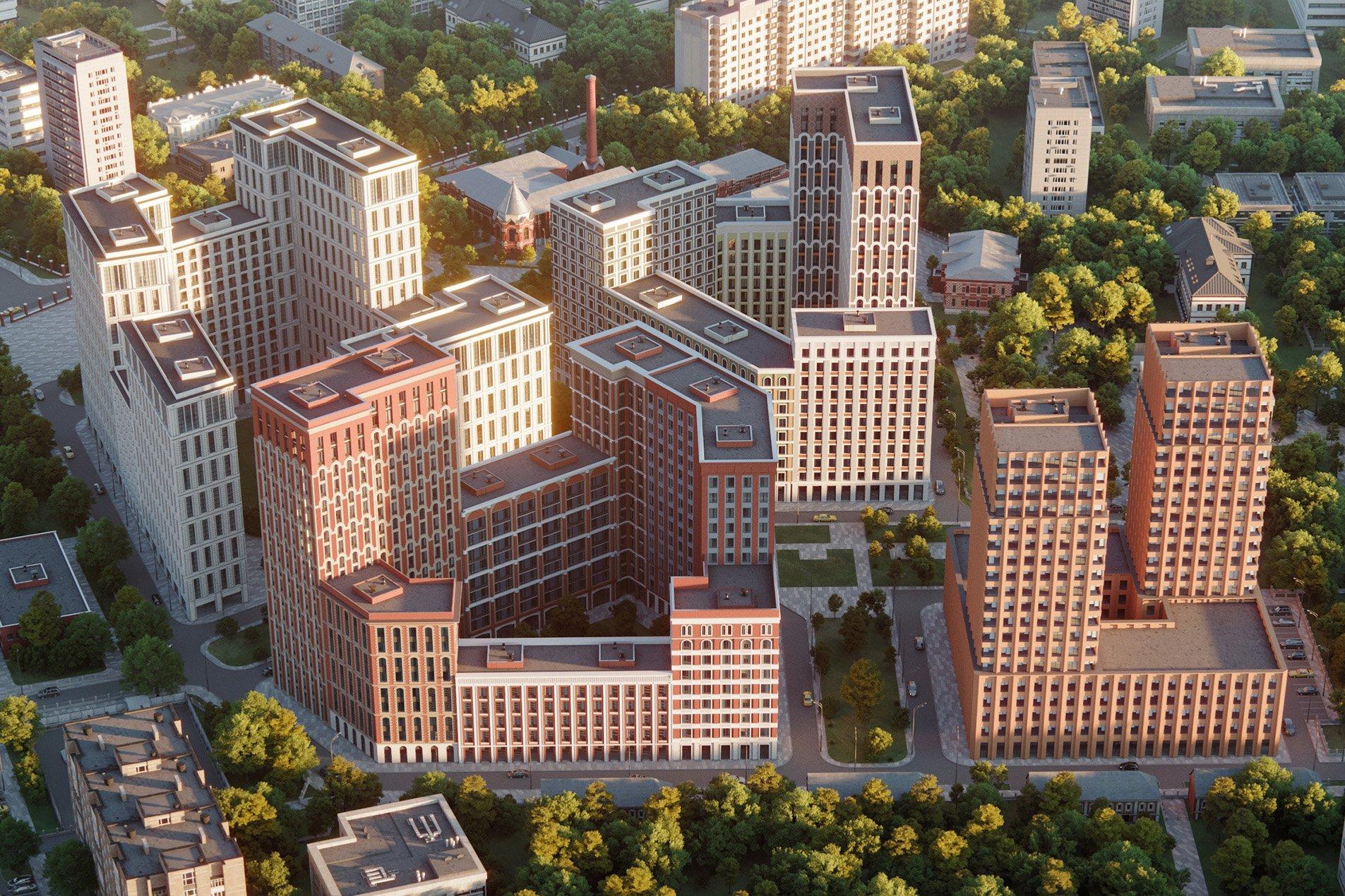108fd4a3e Группа «Эталон» начинает строительство нового проекта в Москве