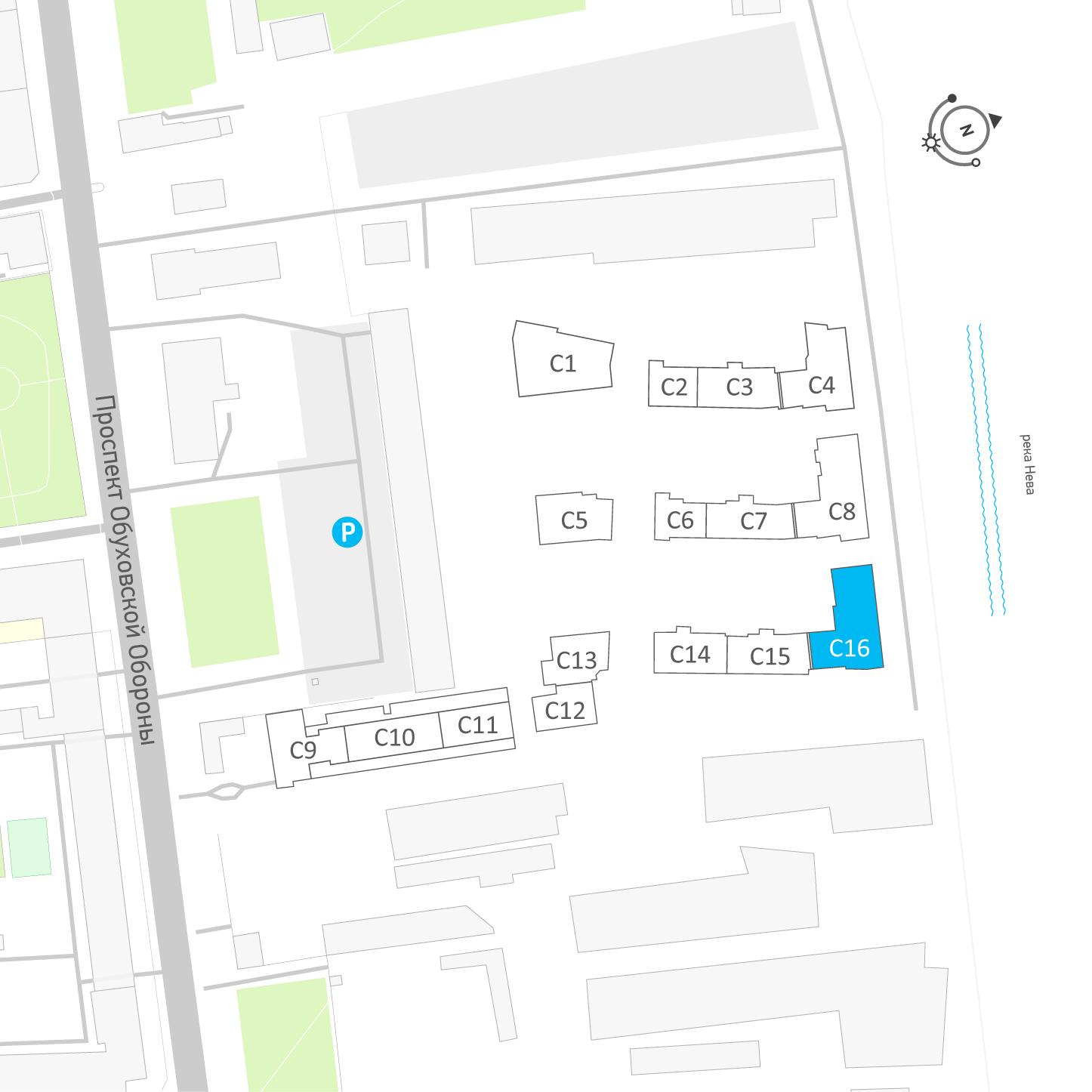 планировка четырехкомнатной квартиры в ЖК «Эталон на Неве» №405